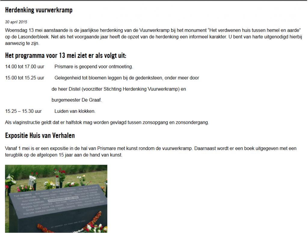 Bron: Enschede Centraal - 30 april 2015