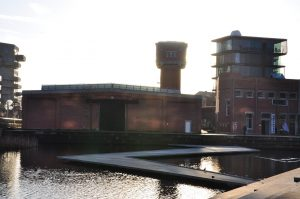 Emphasis on the industrial heritage. Roombeek was once the heart of the textile industry