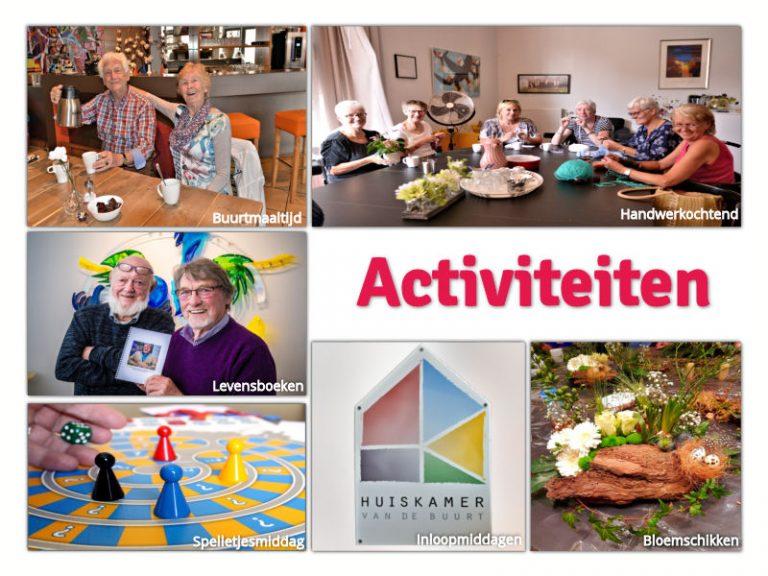 Ontdek de vele activiteiten die worden georganiseerd. Kijk op onze pagina Activiteiten